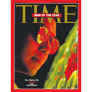 Dr. David Ho on Time magazine cover